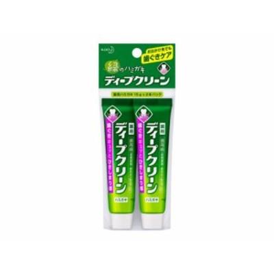 ディープクリーン 薬用ハミガキミニ 15g×2