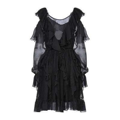 フェイス・コネクション FAITH CONNEXION ミニワンピース&ドレス ブラック S シルク 100% / コットン / ナイロン ミニワン