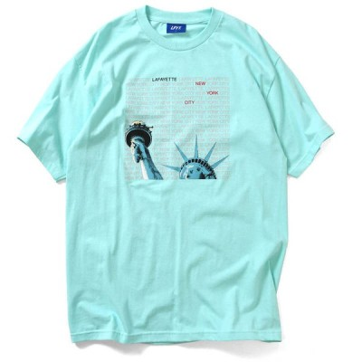 LFYT エルエフワイティー LIBERTY OF NY TEE 半袖 Tシャツ LA200121 LIGHT GREEN ライトグリーン