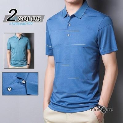 ポロシャツ POLOシャツ スポーツ ファッション カジュアル ゴルフ メンズ ゴルフウェア 半袖 運動