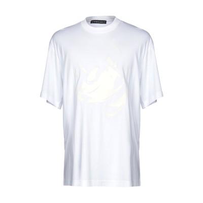 Y/PROJECT T シャツ ホワイト XS コットン 100% T シャツ