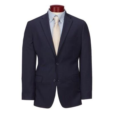 ムラノ メンズ ジャケット&ブルゾン アウター Big & Tall Wardrobe Essentials Classic-Fit Suit Separates Twill Blazer Navy