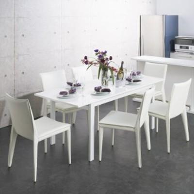 家具 収納 テーブル 机 伸張式テーブル スライドテーブル 簡単伸長!スマート伸長式テーブル 幅140・180cm 568827