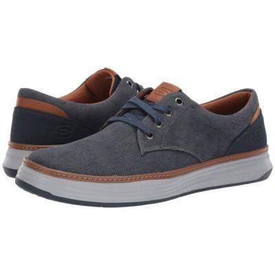 スケッチャーズ SKECHERS メンズ スニーカー シューズ・靴 Moreno Navy