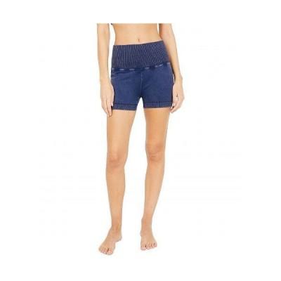 FP Movement レディース 女性用 ファッション ショートパンツ 短パン Good Karma Running Shorts - Deepest Navy
