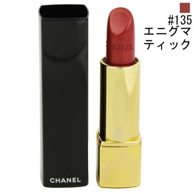 シャネル ルージュ アリュール #135 エニグマティック 3.5g 化粧品 コスメ ROUGE ALLURE LUMINOUS INTENSE LIP COLOUR 135 ENIGMATIQUE CHANEL