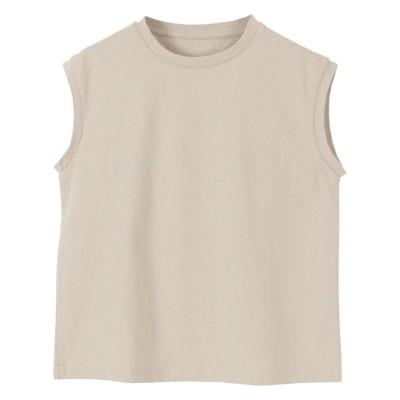 コットンノースリーブカットソー ティティベイト titivate (Tシャツ・カットソー)(レディース)T-shirts,