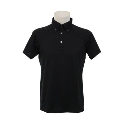 【販売主:スポーツオーソリティ】 ミズノ/メンズ/TSA ポロシャツ メンズ ブラック M SPORTS AUTHORITY