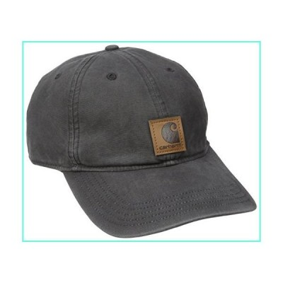 Carhartt Men's Medium Profile 100 Percent Cotton Odessa Force Cap, Black, One Size並行輸入品
