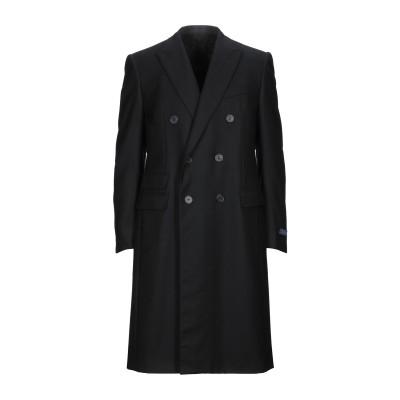 ランバン LANVIN コート ブラック 52 ウール 100% コート