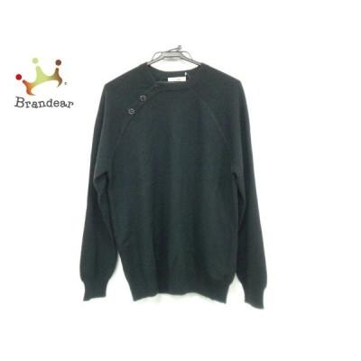 エルメス HERMES 長袖セーター サイズS メンズ 黒 カシミヤ 新着 20200403