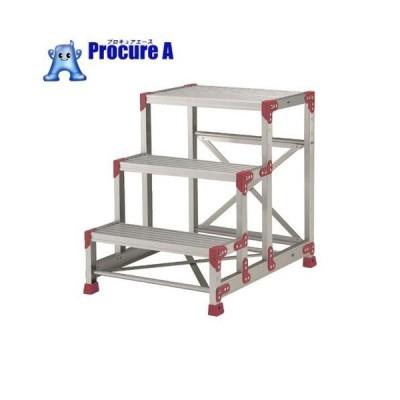 ピカ 作業台 ZG型 3段 幅60cm高さ75cm ZG-3675▼751-3356(株)ピカコーポレイション