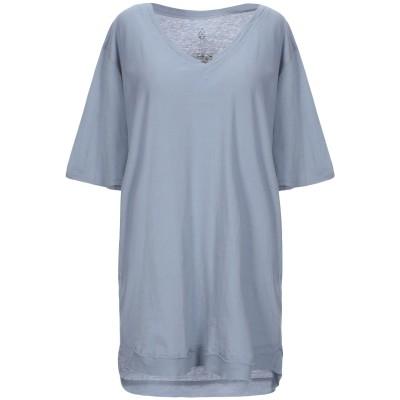 パドカレ PAS DE CALAIS T シャツ ブルーグレー 40 コットン 100% T シャツ