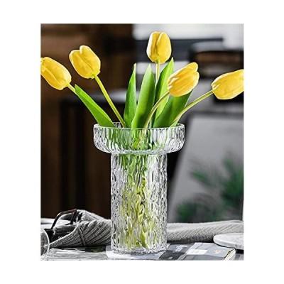 花瓶 ガラス 高級感 透明 花器 フラワーベース ガラスベース ガラスボトル アレンジ インテリア 水栽培 生け花 造花 おしゃれ シンプル