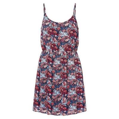 ヴェロモーダ レディース ワンピース トップス Diris Floral Print Mini Dress GOJI BERRY AOP DIRIS