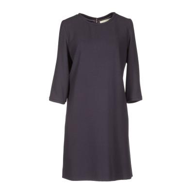 ゴート GOAT ミニワンピース&ドレス ダークブルー 10 ウール 100% ミニワンピース&ドレス