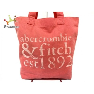 アバクロンビーアンドフィッチ Abercrombie&Fitch トートバッグ ピンク キャンバス 新着 20200716