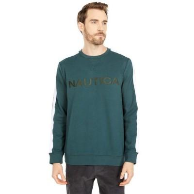 ナウティカ メンズ パーカー・スウェット アウター Logo Fleece Sweatshirt