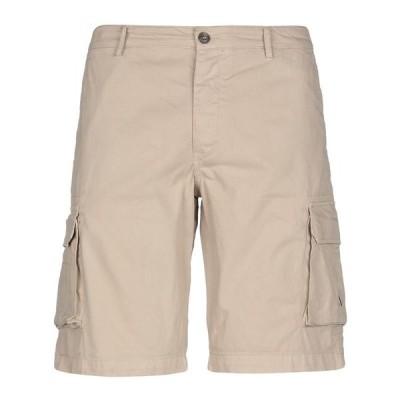 40WEFT ショートパンツ&バミューダパンツ  メンズファッション  ボトムス、パンツ  ショート、ハーフパンツ ベージュ