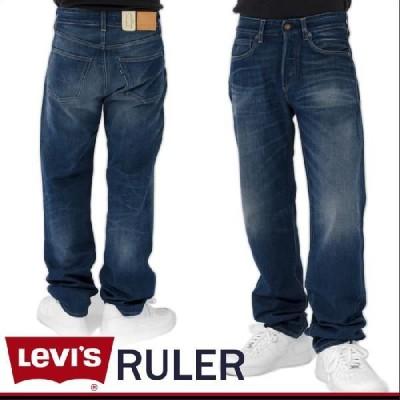 LEVI'S ルーラー ストレートデニムパンツ BLUR