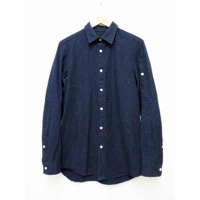 【中古】ジースターロウ G-Star RAW Stalt Clean Long Shirt 9415-5165 長袖 シャツS 200724★ メンズ