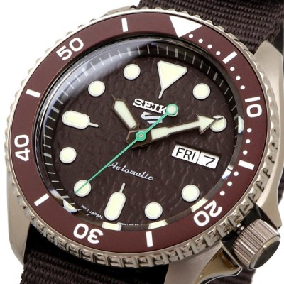 送料無料【流通限定】新品 腕時計 SEIKO セイコー 海外モデル セイコーファイブ 5スポーツ 自動巻き メンズ SRPD85