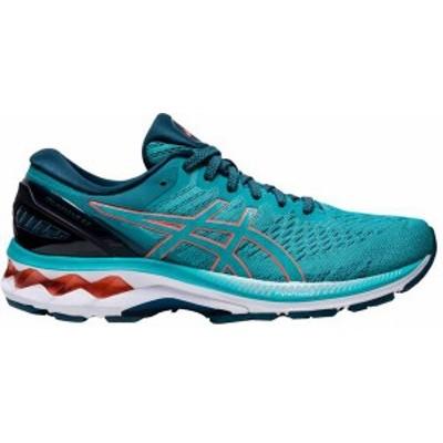 アシックス レディース スニーカー シューズ ASICS Women's GEL-Kayano 27 Running Shoes Blue/Grey/Red