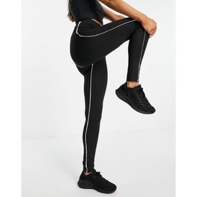 ラブアンドアザーシングス Love & Other Things レディース スパッツ・レギンス インナー・下着 sports contrast trim leggings in black ブラック
