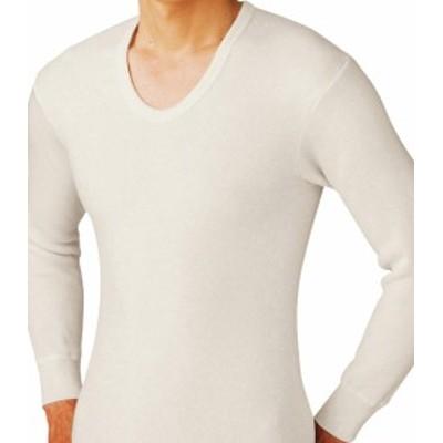 暖か暖か あったかあったか 長袖U首シャツ Mサイズ Lサイズ グンゼ GUNZE 日本製 メンズ 長袖 インナー 肌着 秋冬 あったかグッズ uネッ