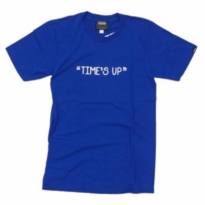 クラウド KROD TIMES UP TEE Tシャツ ROYAL BLUE ロイヤルブルー 青 半袖Tシャツ