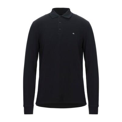 ラグアンドボーン RAG & BONE ポロシャツ ブラック S コットン 97% / ポリウレタン 3% ポロシャツ
