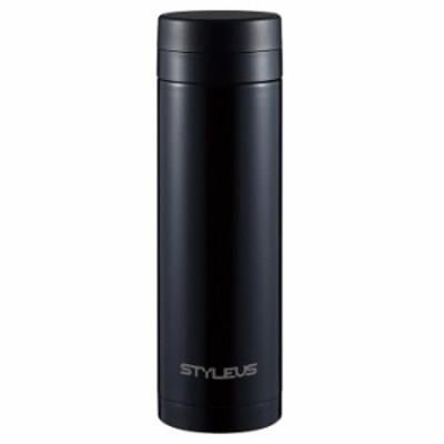 タフコ ステンレスマグ 500ml スタイラス マグカップ ストレート ブラック【送料無料】
