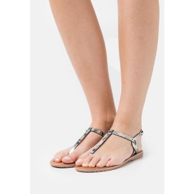 レディース サンダル BILO - Sandals - argent