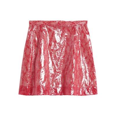 クリストファー・ケイン CHRISTOPHER KANE ミニスカート レッド 38 ナイロン 100% / ポリウレタン樹脂 / シルク / ポリ