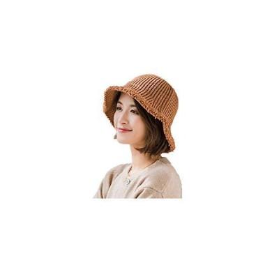 ニット帽子 漁師の帽子 ニットキャップ ニット帽 ケーブルニット 無地 折りたたみ シンプル 暖かい ラインキャ