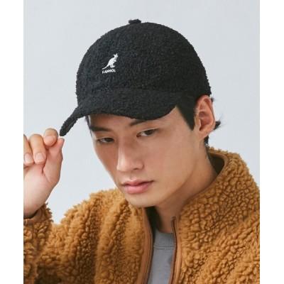 OVERRIDE / 【KANGOL】[日本限定] Sheep Fur Baseball MEN 帽子 > キャップ