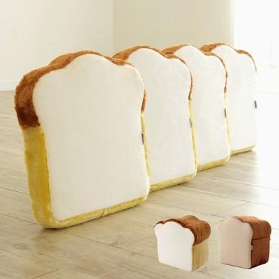 安心の日本製 低反発 クッション 食パンクッション 食パン トースト 4枚セット