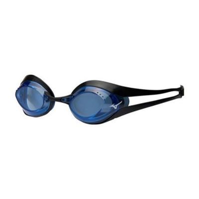 ミズノ GX-SONIC EYE スイミングゴーグル(ノンクッションタイプ)[ユニセックス] 09&nbspブルー×ブラック(n3je600009)