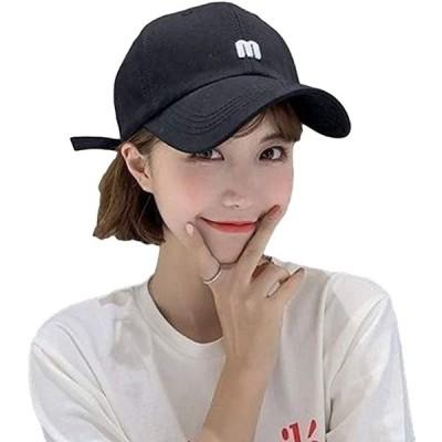 エレクトリックサーカスUVキャップ 帽子 コットン カジュアル デザイン レディース(ブラック, Free Size)