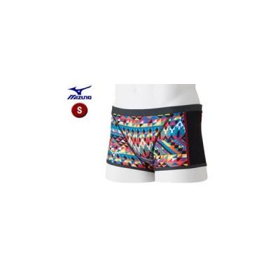 mizuno/ミズノ  N2MB8561-62 TERAKAWA AYA COLLECTION エクサースーツ ショートスパッツ メンズ 【S】 (レッド)
