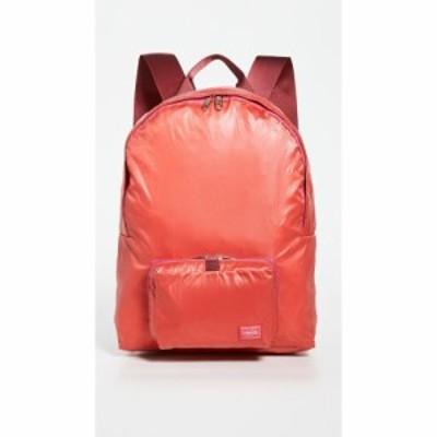 ポーター Porter メンズ バックパック・リュック バッグ Snack Pack Packable Day Pack Scarlet