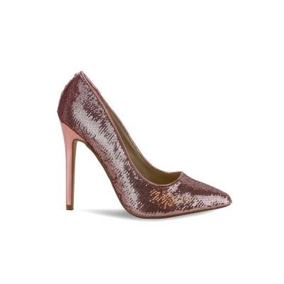 オリビアミラー Olivia Miller レディース パンプス シューズ・靴 Levittown All Over Sequin High Heel Pumps Rose Gold