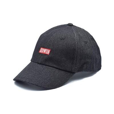 エドウイン(edwin) ベースボール キャップ 帽子 ベースボールキャップ おとな エドウィン 211 (5D ブラックデニム)