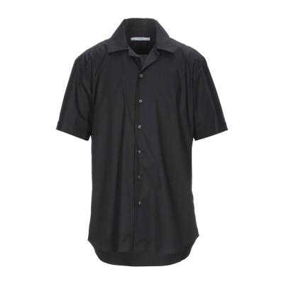 タケシ クロサワ TAKESHY KUROSAWA シャツ ブラック S コットン 97% / ポリウレタン 3% シャツ