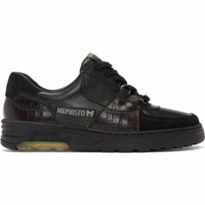 ジーアール ユニフォーマ GR-Uniforma メンズ スニーカー シューズ・靴 Black Mephisto Edition Hybrid Marek Sneakers Black/Brown