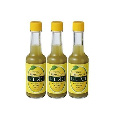 【全商品 】広島県特産品 広島レモン レモスコ60g×3本セット