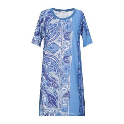 エトロ ETRO ミニワンピース&ドレス アジュールブルー 38 シルク 100% ミニワンピース&ドレス