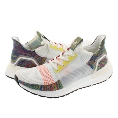 adidas UltraBOOST 19 アディダス ウルトラ ブースト 19 CLOUD WHITE/SCARLET/BRIGHT YELLOW ef3675