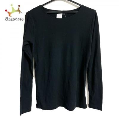 ワイズ Y's 長袖カットソー サイズ3 L レディース - 黒 クルーネック   スペシャル特価 20210609