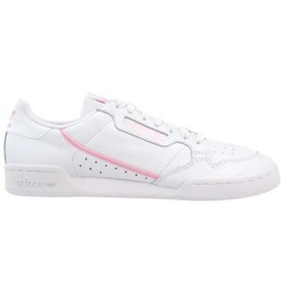 アディダス レディース スニーカー シューズ Continental 80 Lace Up Sneakers ftwr white / true pink